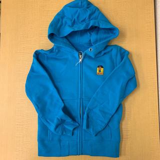 アイリーライフ(IRIE LIFE)の◆新品未使用◆irie life 子供用ジップアップパーカー 青 110サイズ(Tシャツ/カットソー)