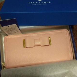 バーバリーブルーレーベル(BURBERRY BLUE LABEL)のバーバリー・ブルーレーベル 長財布 新品(財布)