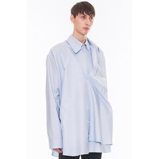 ドレスドアンドレスド(DRESSEDUNDRESSED)のDRESSEDUNDRESSED 17FW レイヤードシャツ(シャツ)