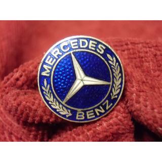 BRDドイツ連邦共和国*メルセデス ベンツバッジ(実物)(襟章)