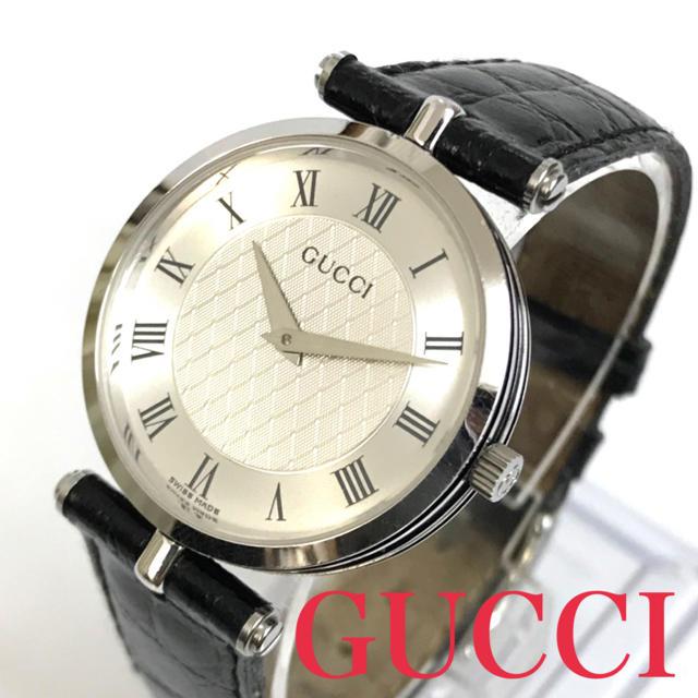 オーデマピゲ偽物 時計 直営店 | Gucci - GUCCI グッチ 腕時計 シェリー メンズ レザー ブラック ヴィンテージの通販 by ブランドshop