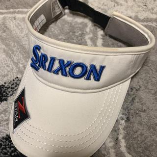 スリクソン(Srixon)のゴルフ サンバイザー SRIXON スリクソン golf(サンバイザー)