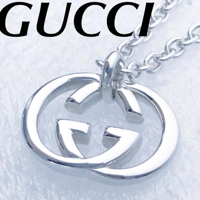 時計 スーパーコピー iwc 、 Gucci - 美品 GUCCI インターロッキングネックレスの通販 by ブッシュ's shop
