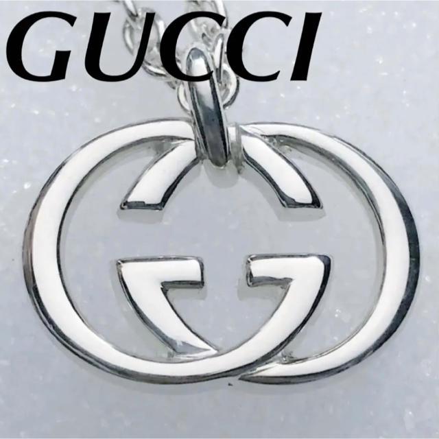 Gucci - 付属品なし価格❗️美品❗️GUCCI インターロッキングネックレスの通販 by ブッシュ's shop
