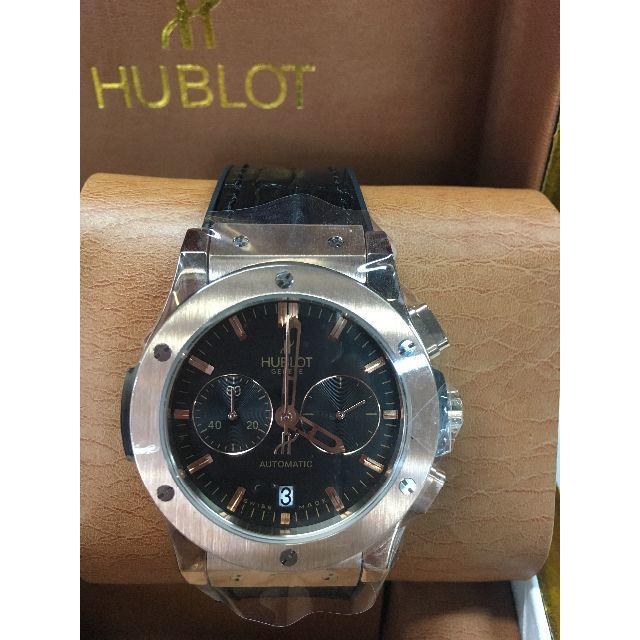 ショパール偽物 時計 紳士 / HUBLOT - HUBLOT クラシック・フュージョン クロノグラフ ブラックの通販 by 雪花r0s shop