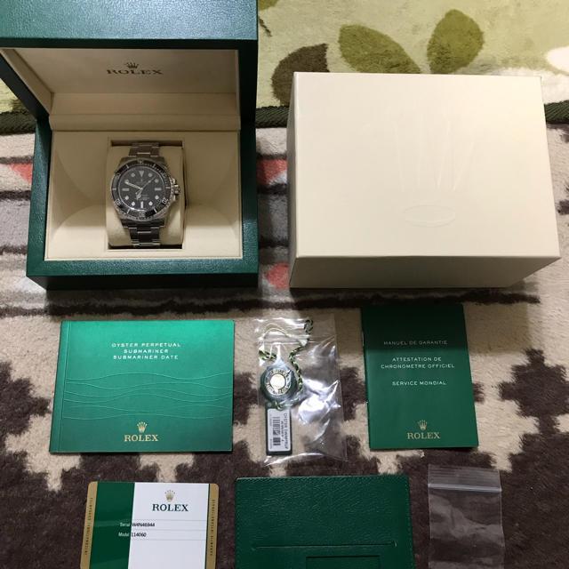時計 ブランド ブレゲ - ROLEX - ロレックス サブマリーナー 114060 美品の通販 by ぴぃちゃん's shop