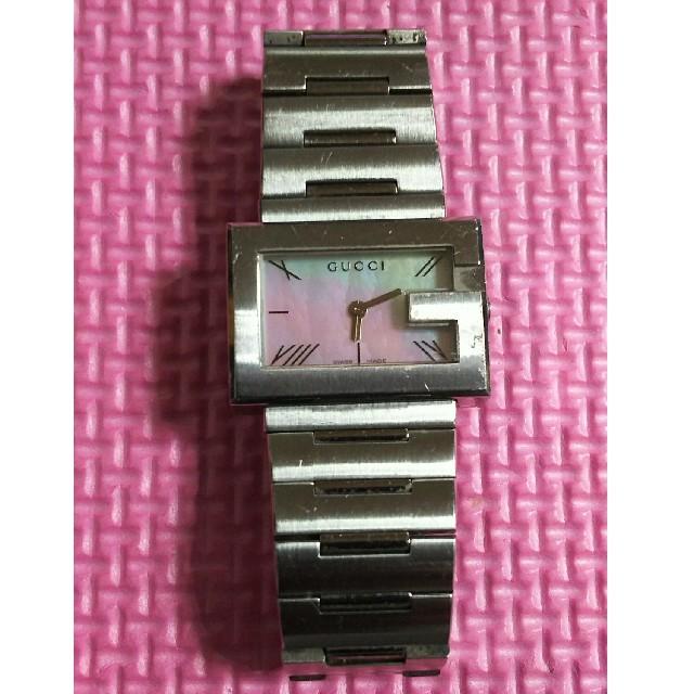 Gucci - GUCCI(グッチ) 100L 腕時計ステンレススチールシェル文字盤(海外限定)の通販 by サンタナ's shop