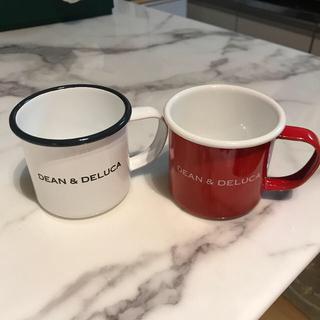 ディーンアンドデルーカ(DEAN & DELUCA)の【新品】Dean&deluca マグカップ  セット ホーロー(グラス/カップ)