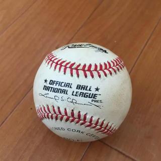 ローリングス(Rawlings)のメジャーリーグ公式球 Major League Baseball(記念品/関連グッズ)