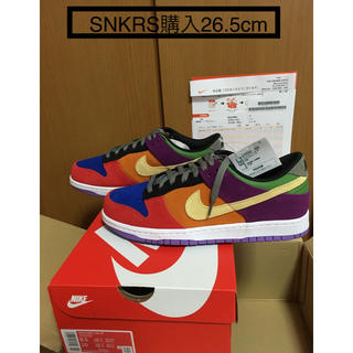 ナイキ(NIKE)のNIKE DUNK LOW SP VIOTECH CRAZY DUNK 26.5(スニーカー)
