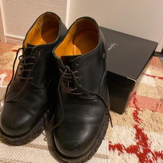 ヨウジヤマモト(Yohji Yamamoto)のヨウジヤマモト      80's   サビ仕様厚底靴(ドレス/ビジネス)
