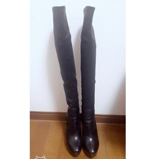 ミュウミュウ(miumiu)のmiu miu ミュウミュウ ニーハイ ブーツ(ブーツ)