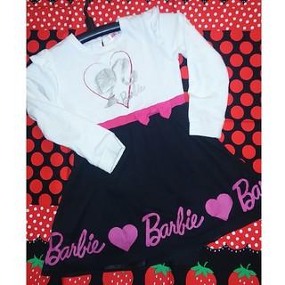 バービー(Barbie)のれお様♡Barbie 120cm ワンピース♡(ワンピース)