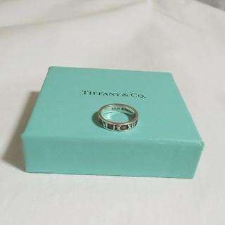 ティファニー(Tiffany & Co.)のTIFFANY&Co ティファニー リング  アトラス ナロー 指輪 #7(リング(指輪))