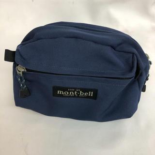 mont-bell ショルダーポーチ ネイビー モンベル