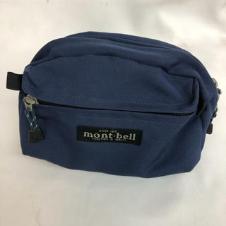 mont bell - mont-bell ショルダーポーチ ネイビー モンベル