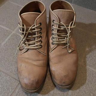 アルフレッドバニスター(alfredoBANNISTER)のアルフレッドバニスター ローカット ブーツ 40  25 26  牛革 日本製(ブーツ)