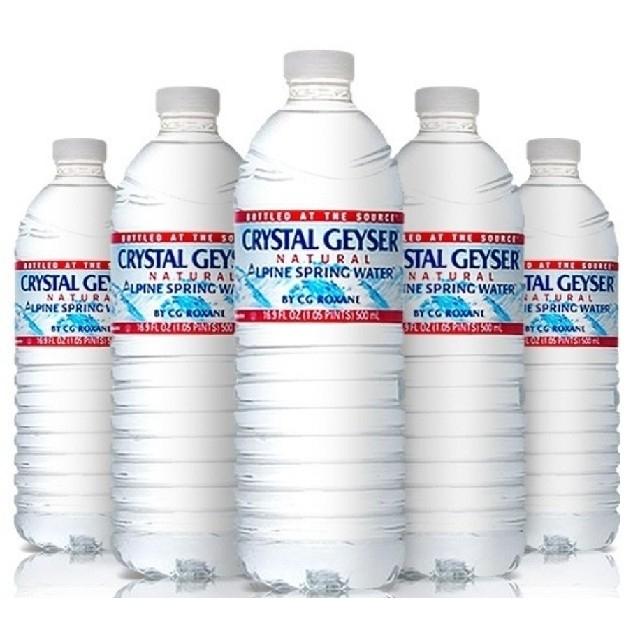 48本クリスタルガイザー500ml 食品/飲料/酒の飲料(ミネラルウォーター)の商品写真