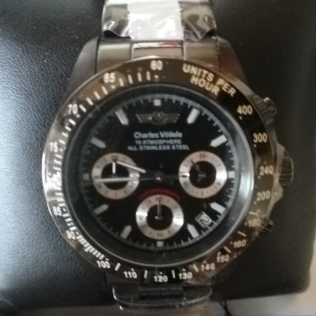 時計 偽物 見分け方 バーバリーヴィヴィアン | メンズ腕時計 アナログ デイトナの通販 by ゆう's shop