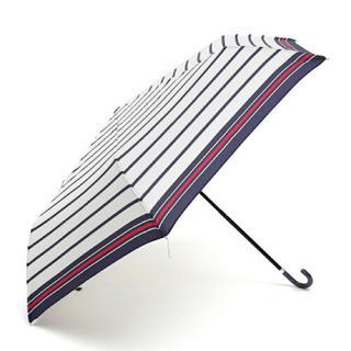 AfternoonTea - アフタヌーンティー マリンボーダー折りたたみ傘 雨傘
