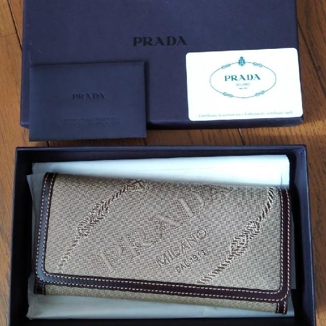 PRADA - 未使用 PRADA 財布の通販 by メロンパンナ's shop