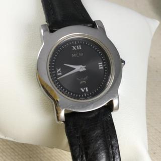 エムシーエム(MCM)のMCM レディースクォーツ 革ベルト(腕時計)