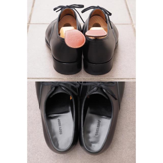 JOHN LOBB(ジョンロブ)の【極美品】 John Lobb(ジョンロブ) Philip2 6.5E ブラック メンズの靴/シューズ(ドレス/ビジネス)の商品写真