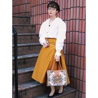 ロキエ(Lochie)のLEBECCA boutique 品のある日のサーキュラースカート(ロングスカート)