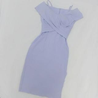 リプシー(Lipsy)の★銀座ドレスショップ★ ラベンダーカラー ドレス(ミディアムドレス)