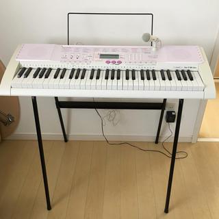 カシオ(CASIO)のCASIO🎵電子キーボード🎵光ナビゲーションLK-107(電子ピアノ)