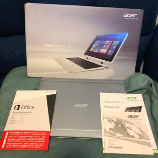 エイサー(Acer)のacer Aspire Switch 10 ノートパソコン タブレット美品(タブレット)