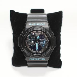 カシオ(CASIO)のCASIO G-SHOCK ブラックブルー GA-300BA(腕時計(デジタル))