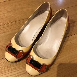 グッチ(Gucci)のGUCCI バンブーパンプス(ローファー/革靴)