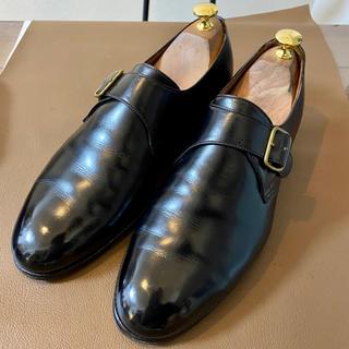 エドワードグリーン(EDWARD GREEN)のエドワードグリーン シングルモンク 旧工場製 メンズ 革靴 7 1/2(ドレス/ビジネス)