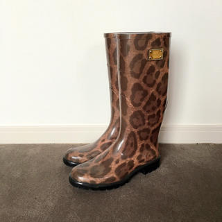 ドルチェアンドガッバーナ(DOLCE&GABBANA)のドルガバ レインブーツ(レインブーツ/長靴)