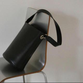 エンフォルド(ENFOLD)の新品☆RIM.ARK/リムアーク Leather bucket bag バッグ(ショルダーバッグ)