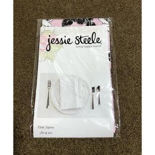 ジェシースティール(Jessie Steele)の★値引き★Jessie Steele クロス ナプキン 2枚セット(収納/キッチン雑貨)