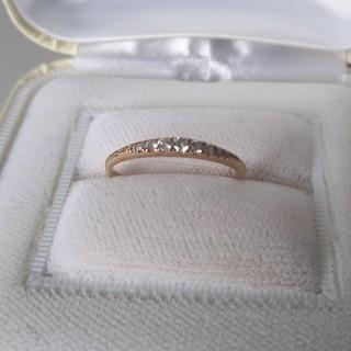 K18エタニティダイヤモンドリング(リング(指輪))