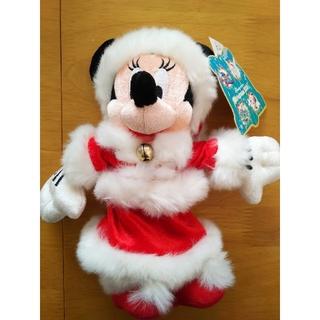 ミニーマウス(ミニーマウス)のDisney ミニーちゃん ぬいぐるみ(2004年クリスマス)(キャラクターグッズ)