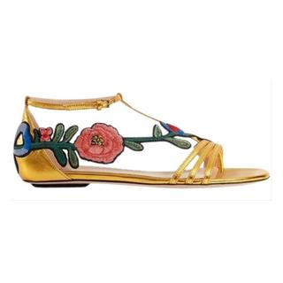 グッチ(Gucci)のGUCCI  Ophelia Flower Sandal(サンダル)