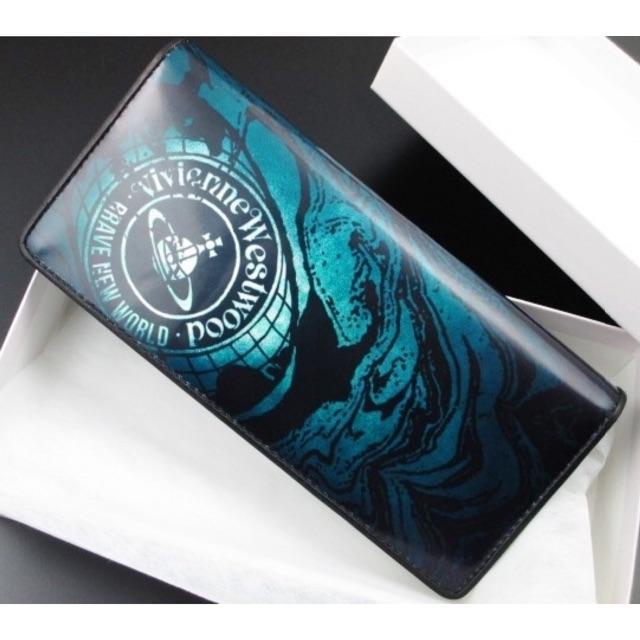 Vivienne Westwood - 送料無料☆新品/箱付 ヴィヴィアンウエストウッド 長財布 ブルーの通販 by KM616.shop
