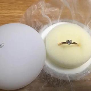 ヨンドシー(4℃)の4℃ダイヤモンドピンクゴールドリング(リング(指輪))