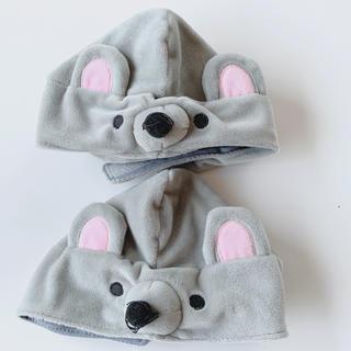 スリーコインズ(3COINS)のネズミ 被り物 帽子 犬 コスプレ(犬)