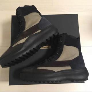 アディダス(adidas)の定価8万 Yeezy season 5 ミリタリーブーツ EU42 / 27cm(ブーツ)