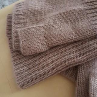 ジョンストンズ(Johnstons)のカシミアフィンガーレスグローブ(手袋)