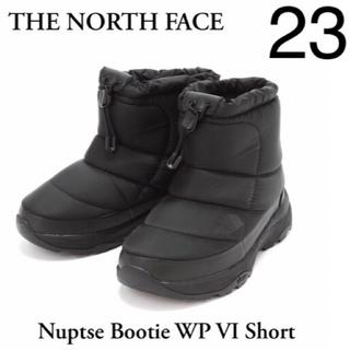ザノースフェイス(THE NORTH FACE)の新品 THE NORTH FACE ヌプシブーティ NuptseBootie 黒(ブーティ)