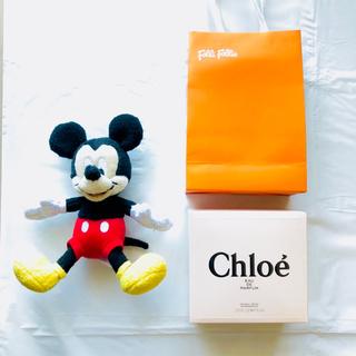 クロエ(Chloe)のFolli Follie ブレスレット Chloe 香水 ミッキー ぬいぐるみ(香水(女性用))