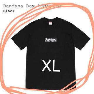 シュプリーム(Supreme)のSupreme Bandana Box Logo Tee XLarge(Tシャツ/カットソー(半袖/袖なし))