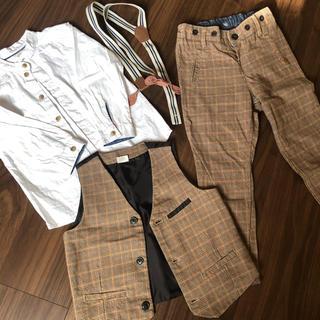 エイチアンドエム(H&M)の専用 セットアップ フォーマル チェック(ドレス/フォーマル)