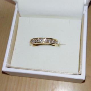 K18YG ブラウンダイヤモンドBRD 約1.05ct (ほぼフルエタ)(リング(指輪))